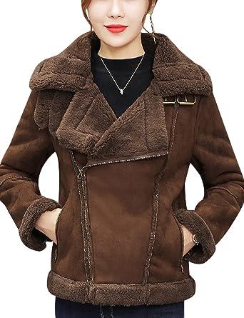 Sicilla Womens Faux Leather Moto Biker Short Coat Jacket