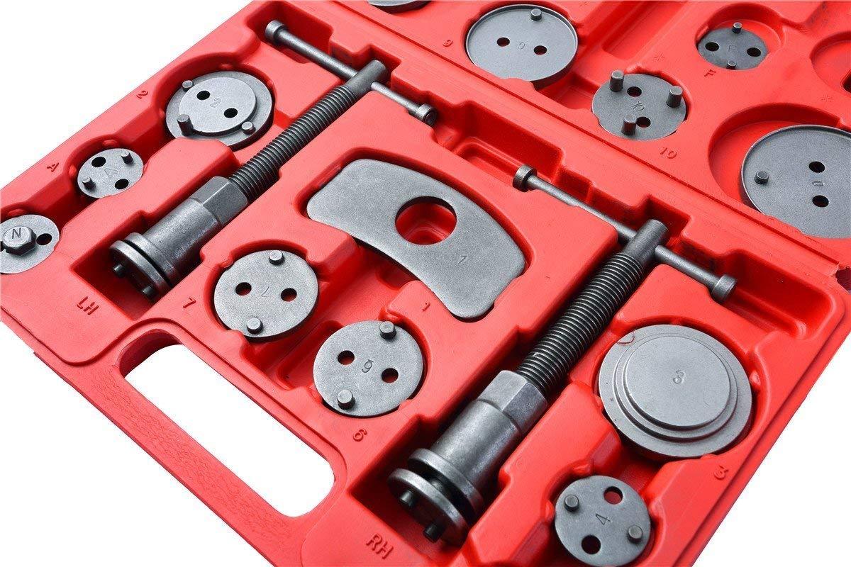 DASBET 22pcs Universal Disc Frein Etrier Piston Compresseur Remontoir Outil de R/éparation pour Voiture