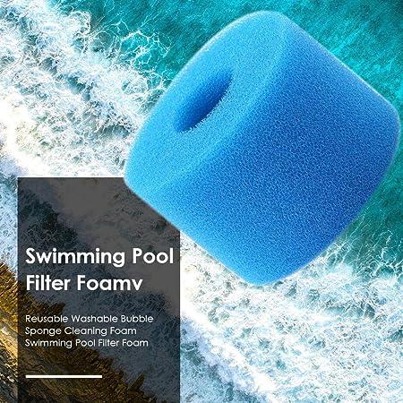 EKUPUZ Swimming Pool Filter Sponge Reusable Filter Washable Aquarium Filter Accessories