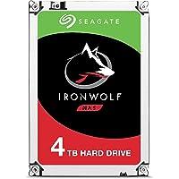 Seagate IronWolf, 4 TB, NAS, Disco duro interno, HDD, CMR 3,5