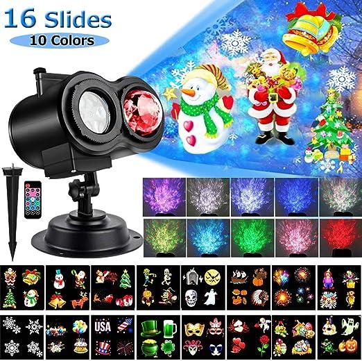 Amazon.com: Yokgrass - Proyector de luces LED para Navidad ...