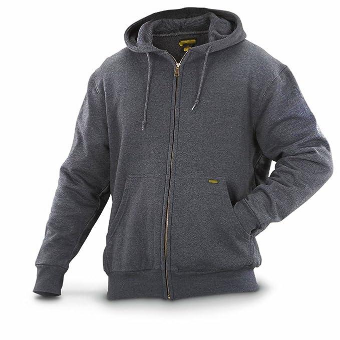 Blue Bay Industries Mens Zip Up Hooded Sweatshirt Ultimate ... 396df9fe49a6