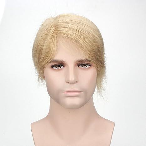 Cabello humano 100 % natural de Lordhair, piel súper fina y transparente,