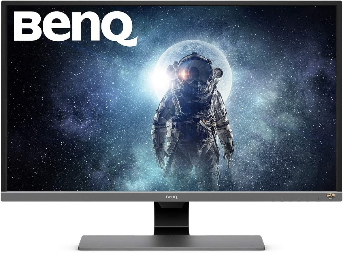 BenQ EW9U 9 Inch 9K HDR Video Enjoyment Monitor, Eye-Care, UHD, VA, 9  Percent DCI-P9, BI Plus Sensor - Metallic Grey