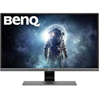 BenQ 31.5 inch 4K HDR Video Enjoyment Monitor (EW3270U), UHD, VA, 95% DCI-P3,Metallic Gray,32/inch,EW3270U