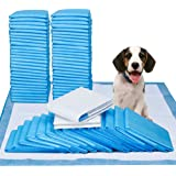 """Petphabet Puppy Dog Training Potty Pee Piddle Pads - 50 Count 100 Count 150 Count Box - 23"""" x 24"""" Large - Ultra-Absorbent Pet Pee Pee Pads for Puppy Housebreaking"""
