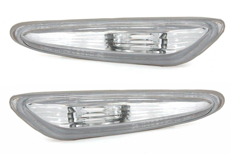 in Vetro Trasparente Cromato AD Tuning GmbH /& Co KG 960693/Indicatore Laterale