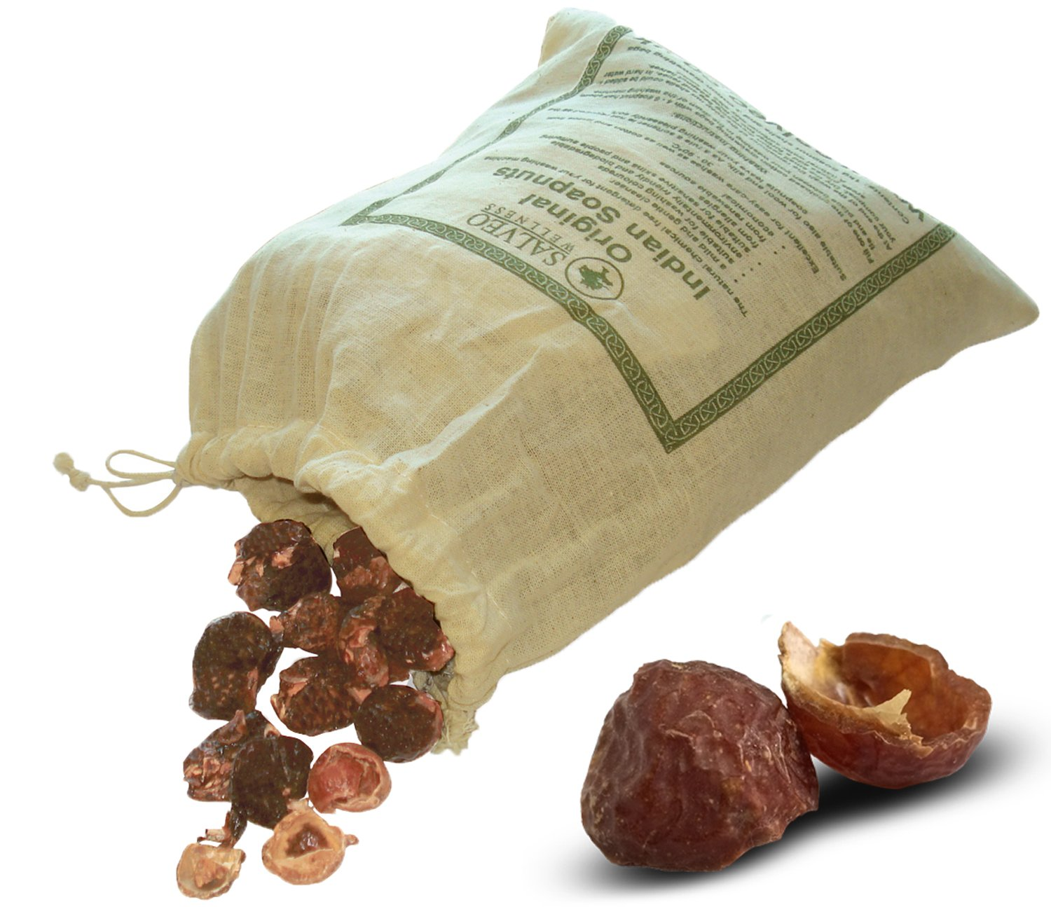 Salveo Natural indio Nueces de jabón 1 kg - Detergente ...