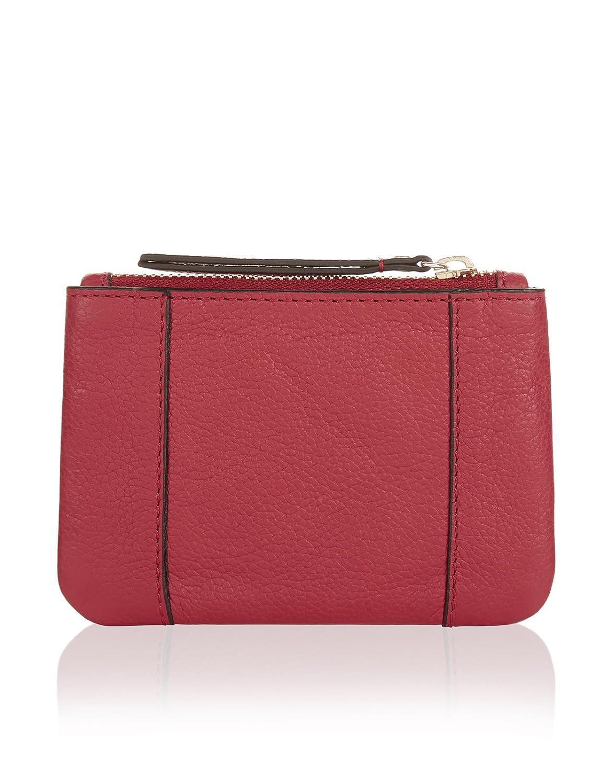 Accessorize - Monedero de Piel Mujer, rojo (rojo), talla ...