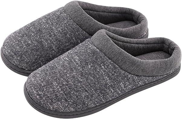 Women's Warm Cotton Knit Memory Foam