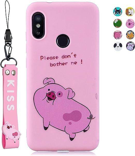 ChoosEU Compatible para Funda Xiaomi Mi A2 Lite Silicona Dibujos ...