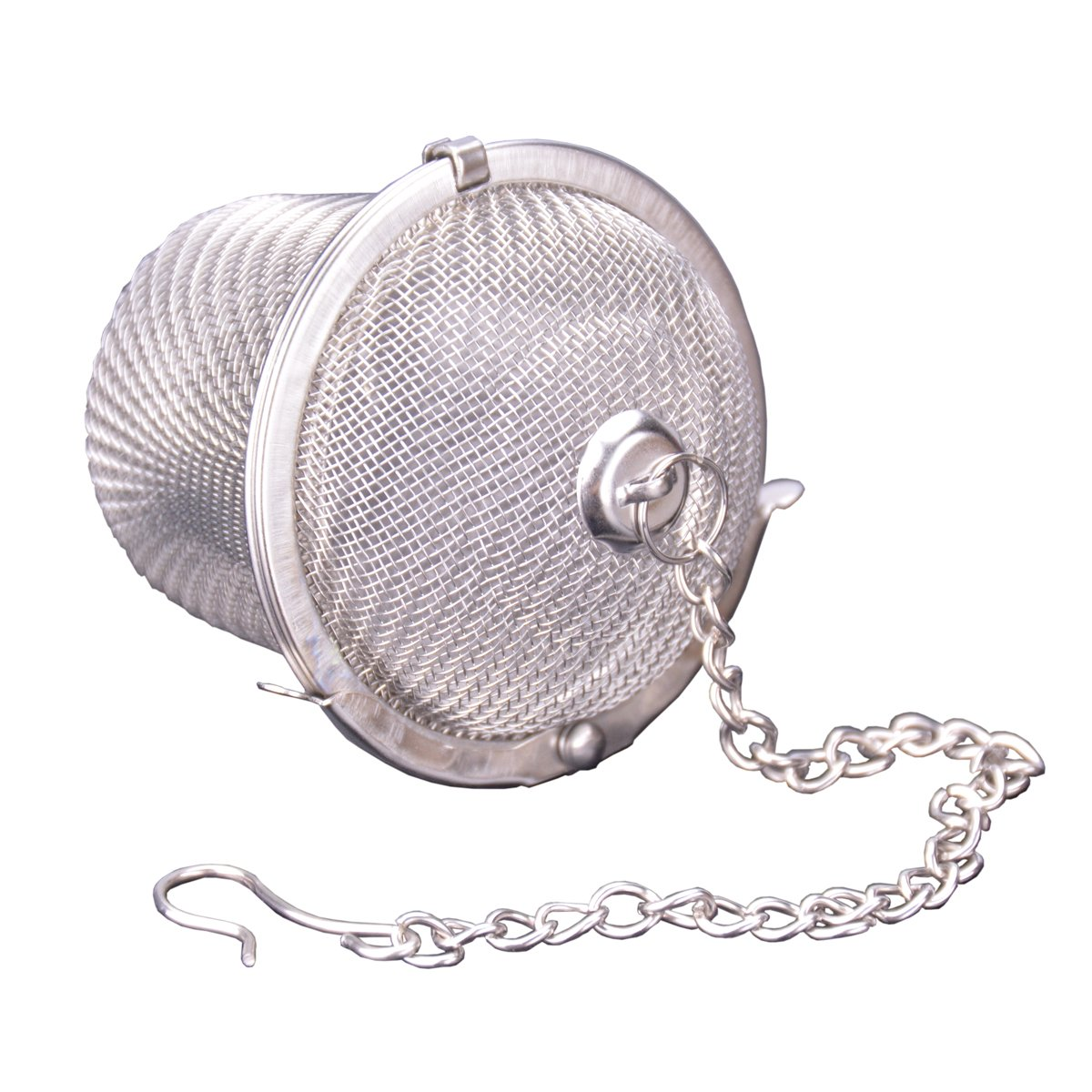 Ilyever Stainless Steel Mesh Tea Bag Strainer filter Infuser for Loose Leaf Grain Tea Cups, Mugs, and Teapots by ilyever (Image #3)