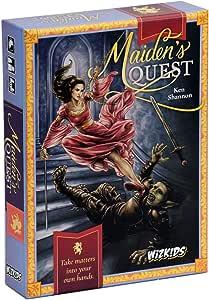 Wizkids WZK73287 Current Edition Maidens Quest Board Game