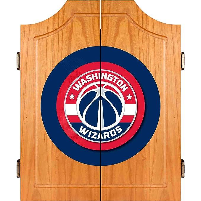 Amazon.com: NBA Washington Wizards Madera Dart Gabinete Set ...