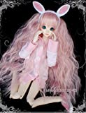 Tita-Doremi BJD Wig Ball-jointed Doll 1/3 8-9 Inch 22-24cm SD MSD DZ DOD LUTS Dollfie Pink Wig Hair (Wig Only, Not A Doll )