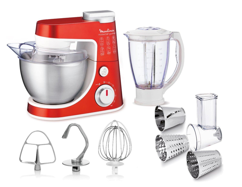 Masterchef Kitchen Appliances Moulinex Qa403g01 Food Processor Masterchef Gourmet 900w Color