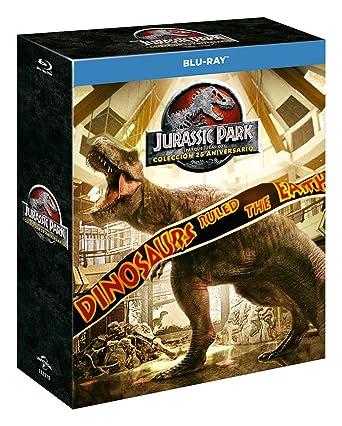 Pack: Parque Jurásico 1-4 - Edición 2018 [Blu-ray]: Amazon.es: Sam ...