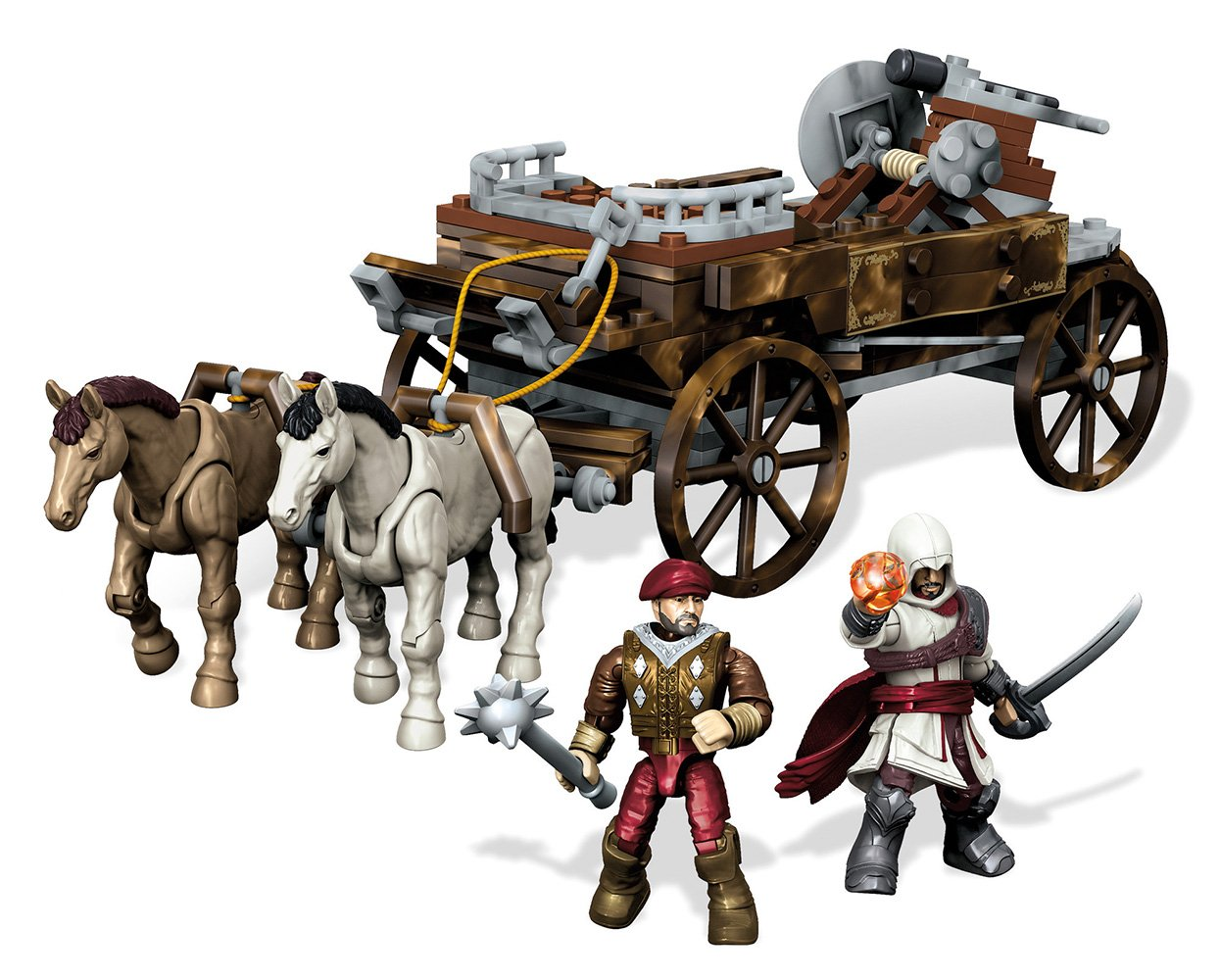 Mega Bloks Assassin's Creed Chariot Chase Building Set 16