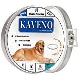 KAVENO Flea Tick Collar For Cat and Dog, One Size
