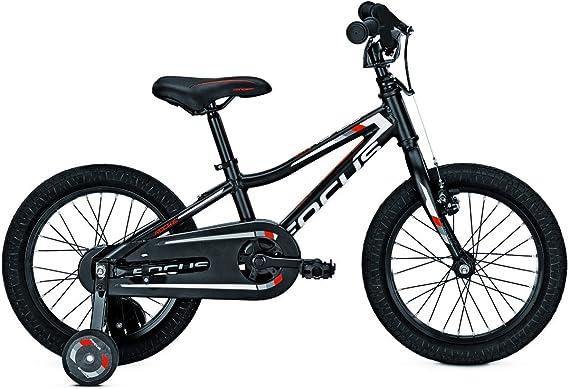 Focus Raven Rookie Black 16 niños Rueda: Amazon.es: Deportes y ...