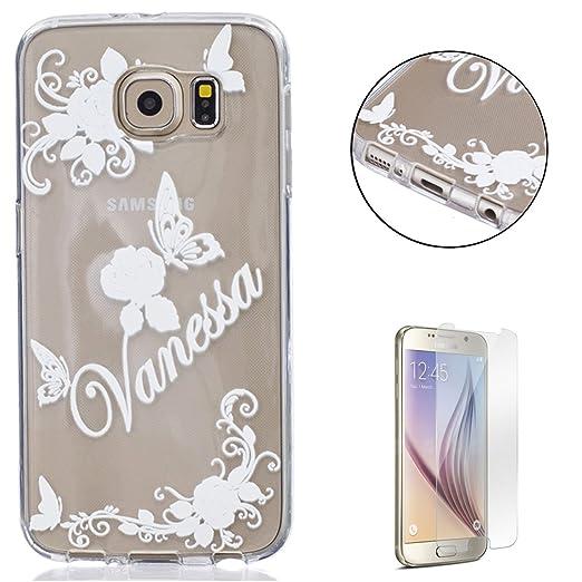 6 opinioni per Samsung Galaxy S6 gel di silicone Custodia (con Gratuito HD Proteggi schermo)