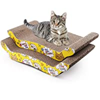 Pet Cat Kitten Corrugated Scratch Board Pad Scratcher Bed Mat Claws Care Toy FUN