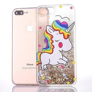 b9b82ac9c78 iPhone 7 Plus 8 Plus móvil Unicornio, E de Unicorn Teléfono Móvil Apple  iPhone 7 Plus 8 Plus Funda ...