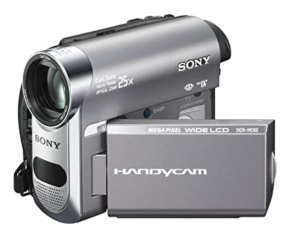 amazon com sony dcr hc62 1mp minidv handycam camcorder with 25x rh amazon com Sony Owner's Manual Online Sony Owner's Manual Online