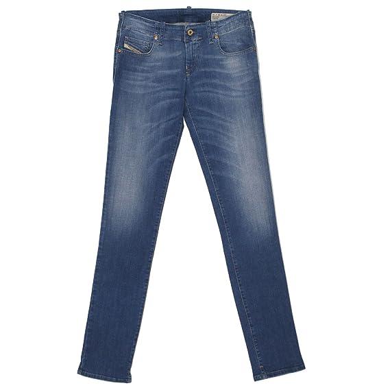 Diesel, Damen Jeans Hose, Grupee,Stretchdenim,Blue Used [20024]