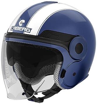 Caberg Uptown Legend Helm Midnight Blau Weiß, 30550024, Größe M (57/58
