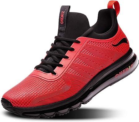 ONEMIX Zapatillas de Running para Hombre, Zapatos Gimnasio ...
