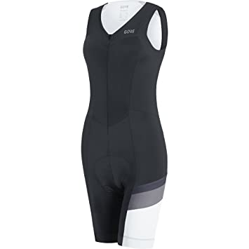 Gore Wear Women s C5 CC Plus Body Padded Seat Cycling Bibtight Shorts -  Black Asteroid 6f2a2c6fe