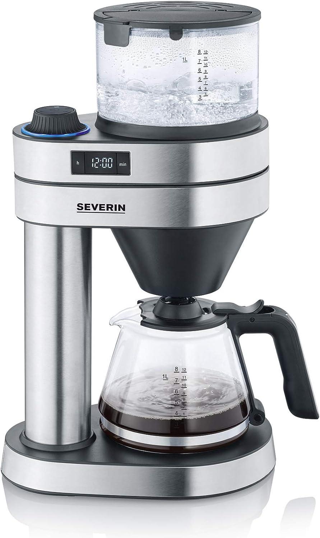 Severin KA 5760 Caprice - Cafetera de filtro (1 L, acero ...