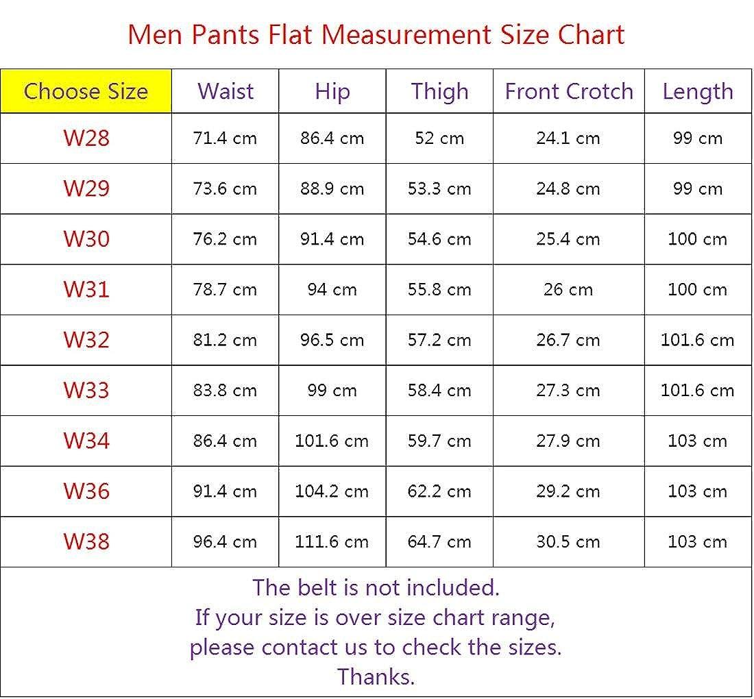 jeansian Mens Washed Printed Denim Long Straight Skinny Pants Jeans MJB111