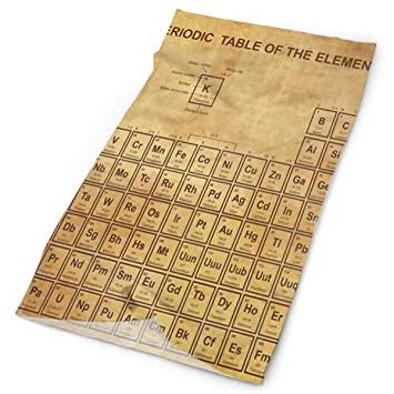 Amazon Com Headband Old Periodic Table Of The Elements