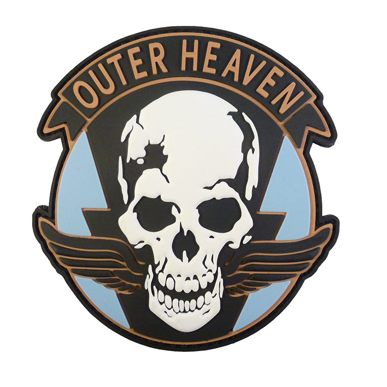 Metal Gear Solid Outer Heaven The Phantom Pain Cosplay PVC Rubber 3D Hook-and-Loop Patch 2AFTER1 P.1751.2.V