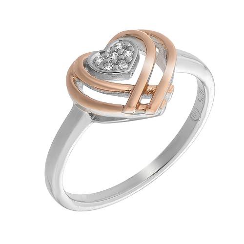 orphelia anello  Orphelia Anello Donna argento - zr-7368/60 RG: : Gioielli