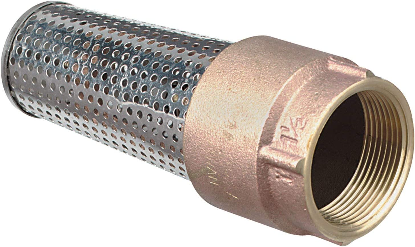 Leakproof Brass Foot Valve-1in #TC2503LF-P2