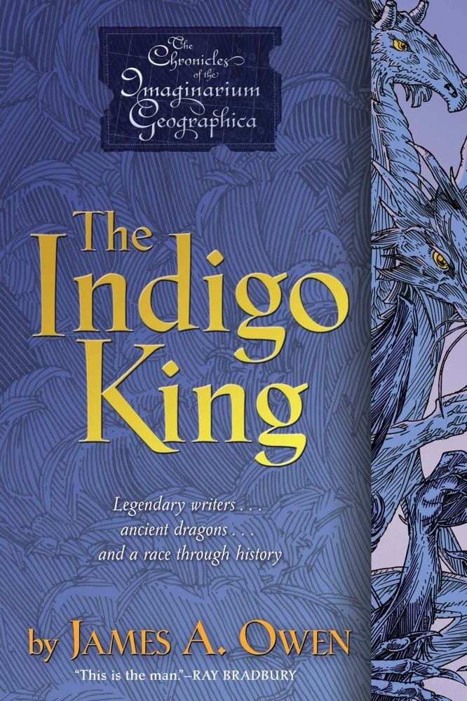 The Indigo King (Chronicles of the Imaginarium Geographica, The)