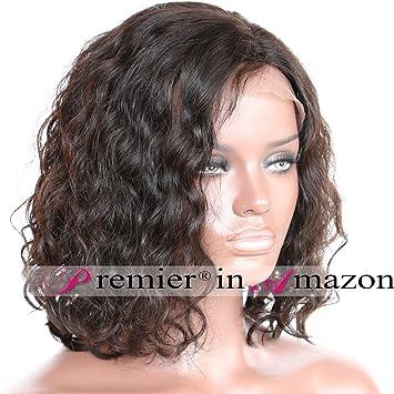 Premier short Wavy Lace Front Wigs Brazilian