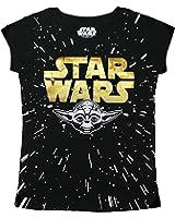 Star Wars Girl's Gold Yoda T-Shirt