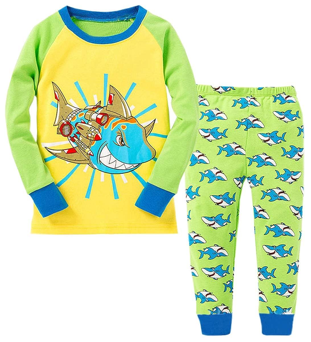 Betusline Boys 2-Piece Pajamas Set