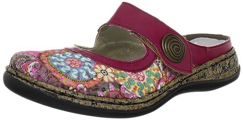 Rieker 46385 Zoccoli Donna Multicolore Pinkmultipink91 36 EU Scarpe