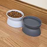 Kitty City Raised Cat Food Bowl