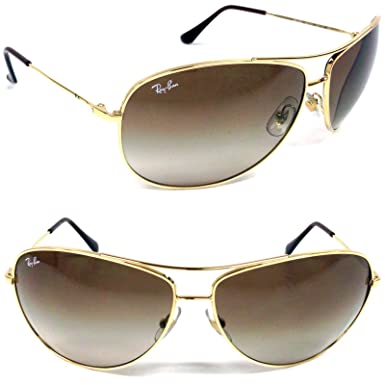 84fc9f4134d43 ... sale ray ban rb 3293 001 13 gold brown gradient frame size 63mm fd642  a68ca