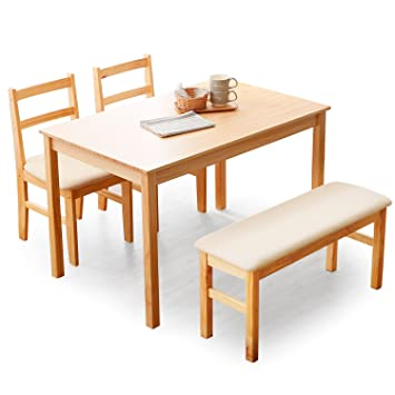 2d2aa2dc0c813d LOWYA (ロウヤ) ダイニングセット ダイニングテーブル 4点セット パイン無垢材 天然木