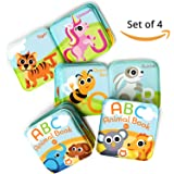 Floating Baby Bath Books. Kids Learning Bath Toys. Waterproof Bathtime Toys for Toddlers. Kids Educational Infant Bath…