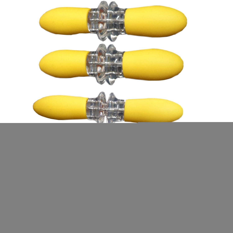 Arlai Set of 8, Interlocking Jumbo Corn Holder, Yellow