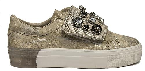 factory price 5a0fd 0b15b DEI COLLI Sneakers Fabbrica 1SOUND112 Scarpe Donna Avorio ...