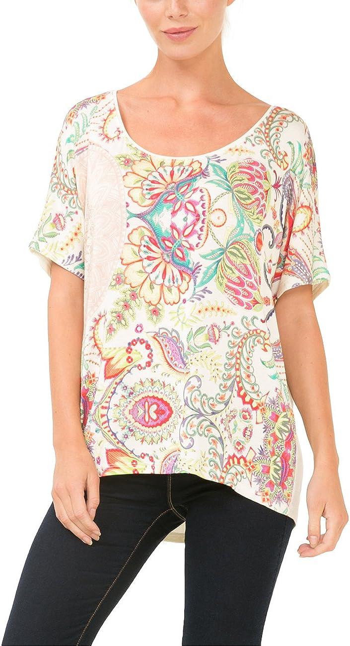 Desigual TS_Nudo Valkiria Camiseta para Mujer